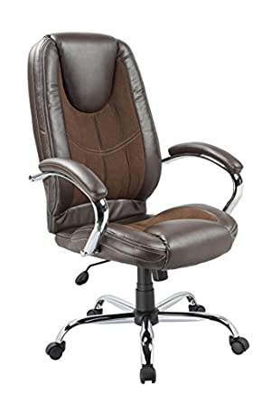 Office Factor Ergonomic High Back Executive Managerial Office Chair Padded
