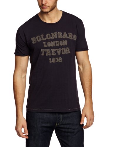 Bolongaro Trevor 1832 Printed Men's T-Shirt Navy Large