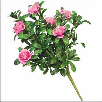 Outdoor Artificial Pink Azalea Bush