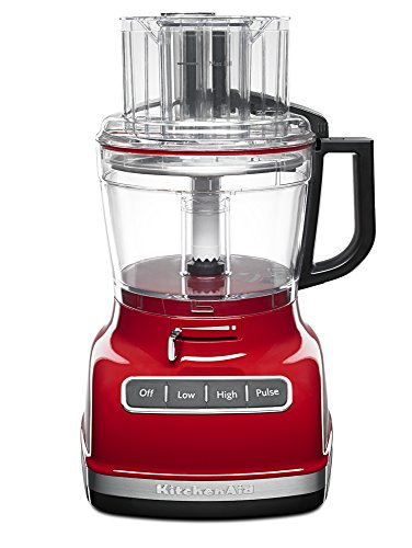Kitchenaid Kfp1133Er 11-Cup Food Processor With Exact Slice System, Empire Red front-523568