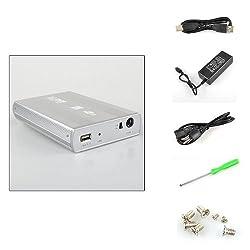 BestDealUSA 3.5 SATA to USB HARD DRIVE CADDY HDD CASE ENCLOSURE 2.0