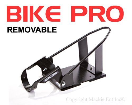 BIKE PRO-Motorcycle Wheel Chock-Black Removable Chocks