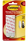 Command Mounting Refill Strips, Large, 6-Strip