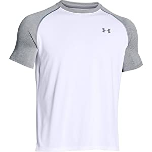 Men's Under Armour Tech Short Sleeve T-Shirt, White (100), Large