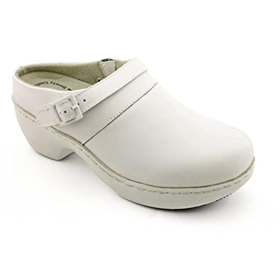 Spring Step Pro Women's SICILY White Clogs 5.5 W