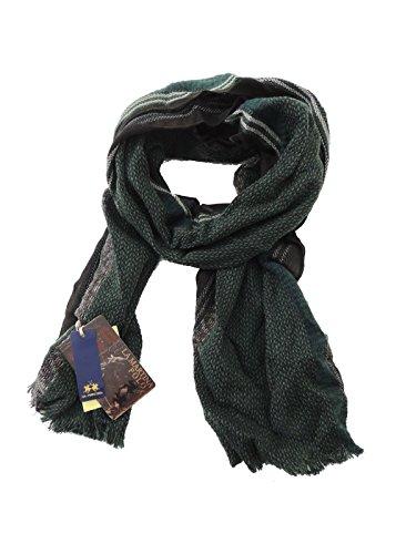 La Martina sciarpa misto lana foulard made in Italy DN1C7029 (VERDE)
