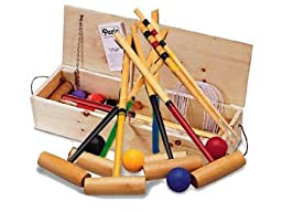 Eastport Croquet set by North Meadow