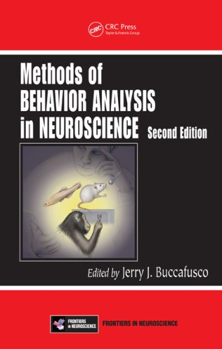 Large book cover: Methods of Behavior Analysis in Neuroscience