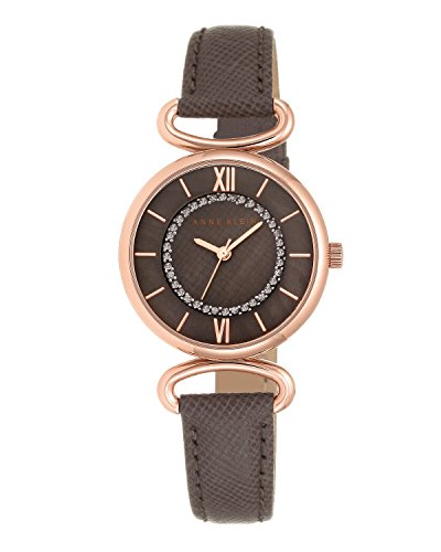 anne-klein-womens-the-lady-quartz-watch-with-brown-dial-analogue-display-and-brown-leather-strap-ak-