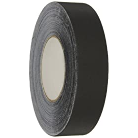 "Polyken Vinyl Coated Cloth Premium Gaffer's Tape, 11.5 mil Thick, 60 yds Length, 1-1/2"" Width, Black"