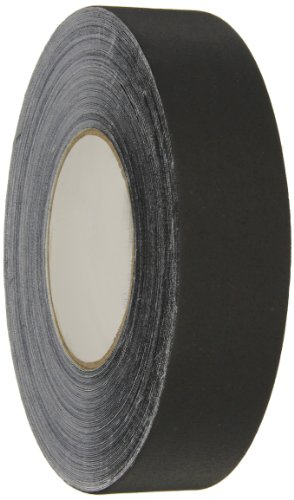 "Polyken Vinyl Coated Cloth Premium Gaffer's Tape, 11.5 mil Thick, 55 yds Length, 1-1/2"" Width, Black"