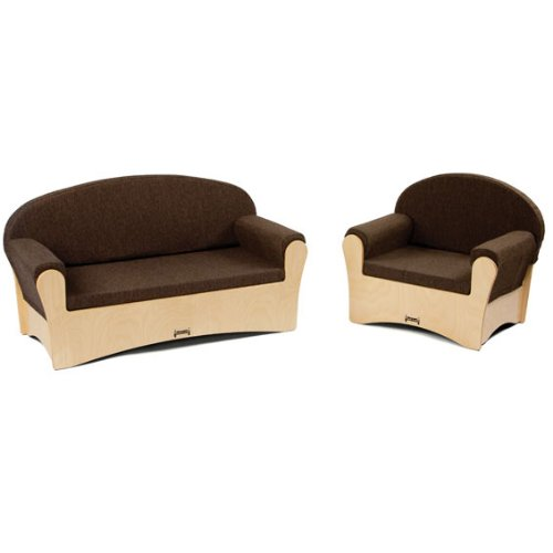 Jonti-Craft 3772JC Komfy Sofa and Chair- 2 Piece Set