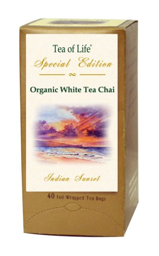 Buy Tea Of Life Special Edition Indian Sunset Blend Flavor, 40-Count, 2.1-Ounce Boxes (Pack of 4) (Tea Of Life Special Edition, Health & Personal Care, Products, Food & Snacks, Beverages, Tea)