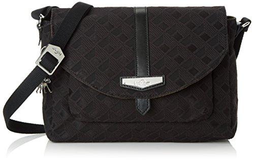 kipling-maelissa-s-sacs-bandouliere-femme-noir-ref33w-diamond-black-25x18x13-cm