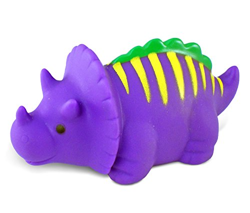 Puzzled Bath Buddy Dinosaur Triceratops Water Squirter