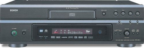Denon DVD-3910B Progressive Scan DVD/CD Player (Black)