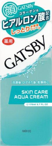 GATSBY (ギャツビー) 薬用スキンケアアクアクリーム (医薬部外品) 170mL