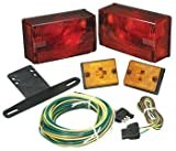 Wesbar Submersible Tail Light Kit with Side Marker/Clearance Lights, Over 80-Inch