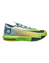 Nike KD VI Men's Shoes Electric Green/Night Factor-Atomic Orange 599424-302