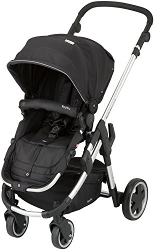 Kiddy Click 'n Move 3 Stroller - Racing Black - 1