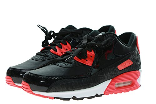 Nike Air Max 90 Anniversary Infrared Croc Size 9 725235-006 Deadstock