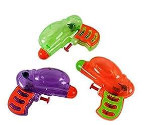 Rhode Island Novelty 12 Neon Grip Squirt Guns