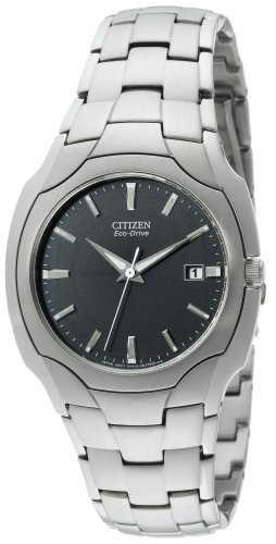 Citizen Men's BM6010-55E Eco-Drive Stainless Steel Watch