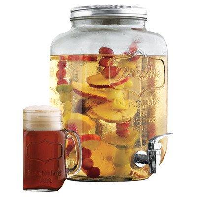 Wine Enthusiast Mason Jar Beverage Dispenser Reviews