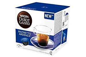 Shop for Nescafé Dolce Gusto Espresso Ristretto Ardenza, Strong, 16 Coffee Capsules / Servings by Nestlé