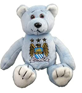 Absolute Footy - Peluche Manchester City F.C. Beanie Bear