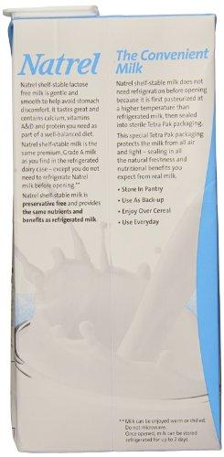 natrel skim milk lactose free 32 ounce pack of 6 food. Black Bedroom Furniture Sets. Home Design Ideas
