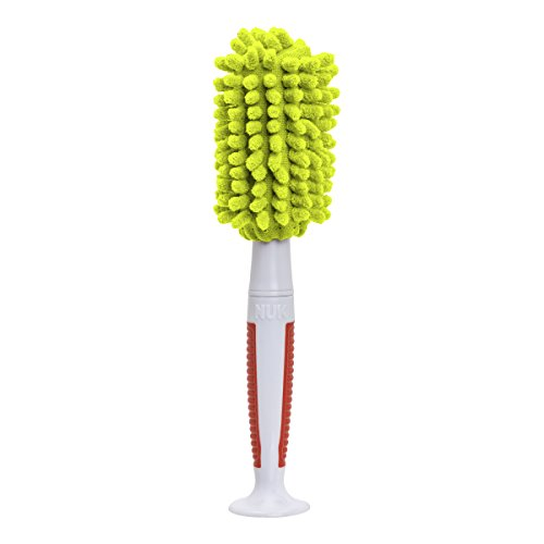 Nuk No-Scratch Micro-Fiber Bottle Brush With Ergonomic Handle, Styles May Vary front-1004918