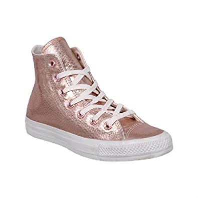 converse womens as glam hi trainers rose gold white 5 shoes bags. Black Bedroom Furniture Sets. Home Design Ideas