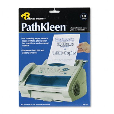 Advantus PATHKLEEN - Paper path cleaning sheets - 10 sheets