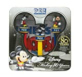 Pez ペッツ PEZ COLLECTIBLES--Mickey 80 Years コレクション with ヴィンテージ Mickey ポスターディスペンサー並行輸入品