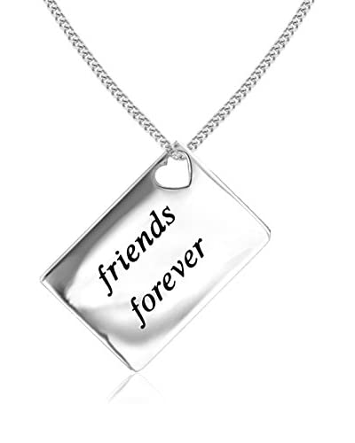 Lily and Lotty Collar Friends For Ever Love Letters 0.01 ct Diamond