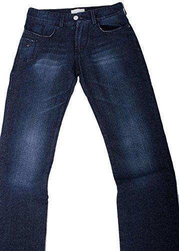 Energia Jeans uomo DY9050 T-boy pantaloni Jeans da Uomo Blu scuro W33 L34