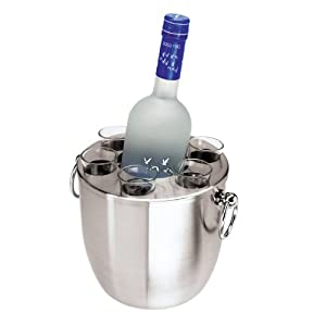 Vodka Bucket with Holder