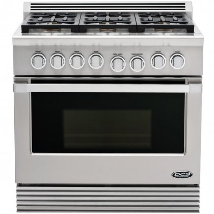 Dcs Rdu-366-L Range 36, 6 Burner, Lp Gas