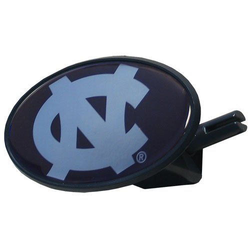 NCAA North Carolina Tar Heels Plastic Oval Hitch Cover (Unc Tow Hitch Cover compare prices)