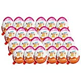 (Kinder Display With 24 units FOR GIRLS) Ships From USA - Kinder Joy With Surprise Inside (Color: mix, Tamaño: 20 gm)