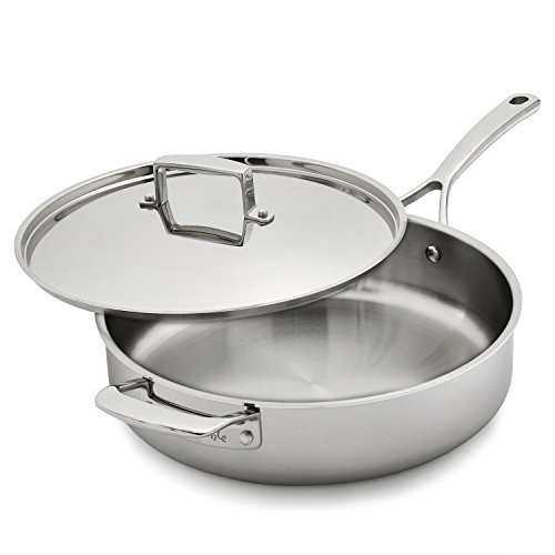 Sur La Table Tri-Ply Stainless Steel Saute Pan SLT-0001240 , 5 qt.