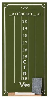 Viper Cricket Chalkboard Scoreboard, Small, Green