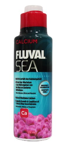 Fluval Sea Calcium For Aquarium, 8-Ounce