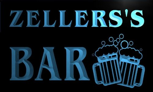 w010190-b-zellerss-name-home-bar-pub-beer-mugs-cheers-neon-light-sign