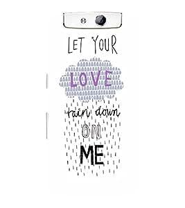 EPICCASE Rain on Me Mobile Back Case Cover For OPPO N1 (Designer Case)