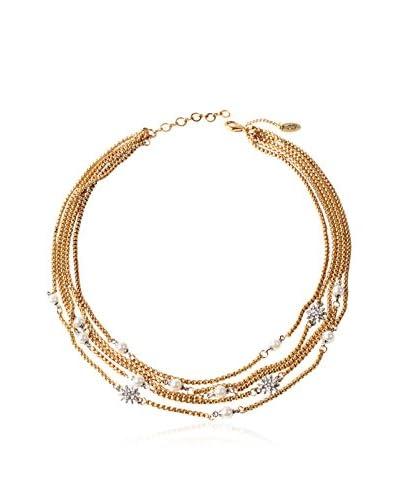 Amrita Singh Collana Multi Chain Starburst Necklace