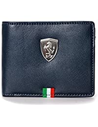 Puma Ferrari Men's Wallet (BLUE) (Original Products Selling By Only Seller : KGN GALLERY) #5
