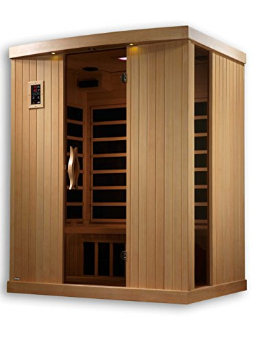 Golden Designs Amz-Gdi-6354-01 Ultra Low Emf Torino 3-Person Far Infrared Sauna