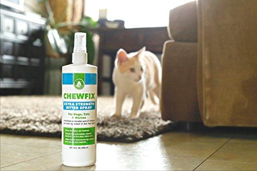 Big 32oz Extra Strength Pet Chew Repellent Chewfix Bitter Spray Best Deterrent For Cat Dog